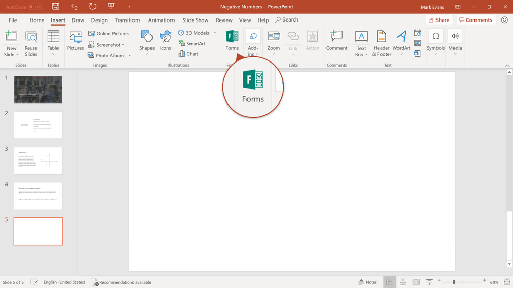 Forms_PPT integration entry point.png