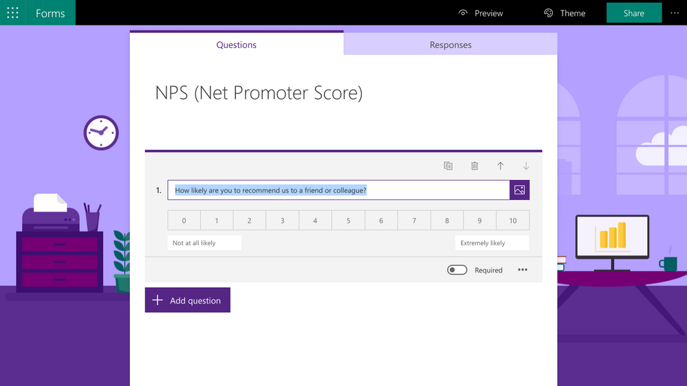 Understand respondent sentiment with new NPS questions.