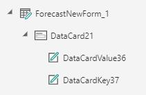 Data Card NOT Correct