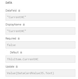 Data Properties Correct