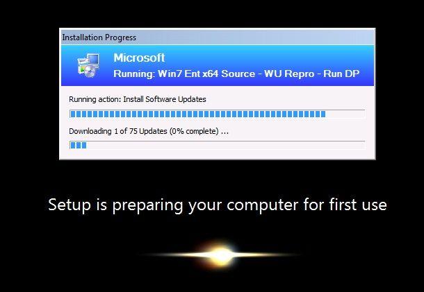 Windows 7 stuck on installing updates | [SOLVED] windows 7 startup