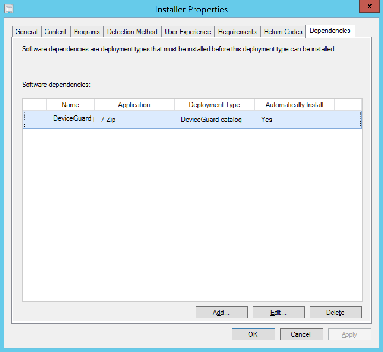 Managing Windows 10 Device Guard with Configuration Manager