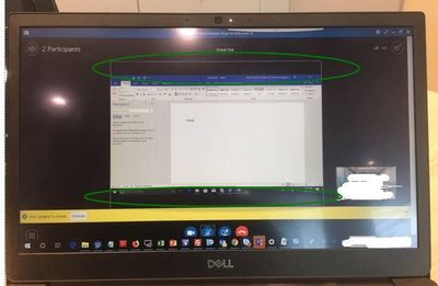 screen sharing from 1 TV rooms using smartdock receive by laptop