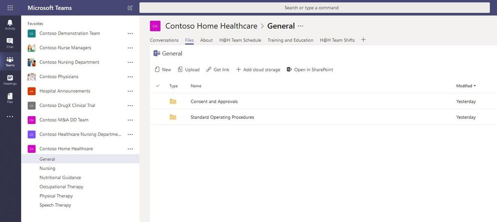 Microsoft Teams Files
