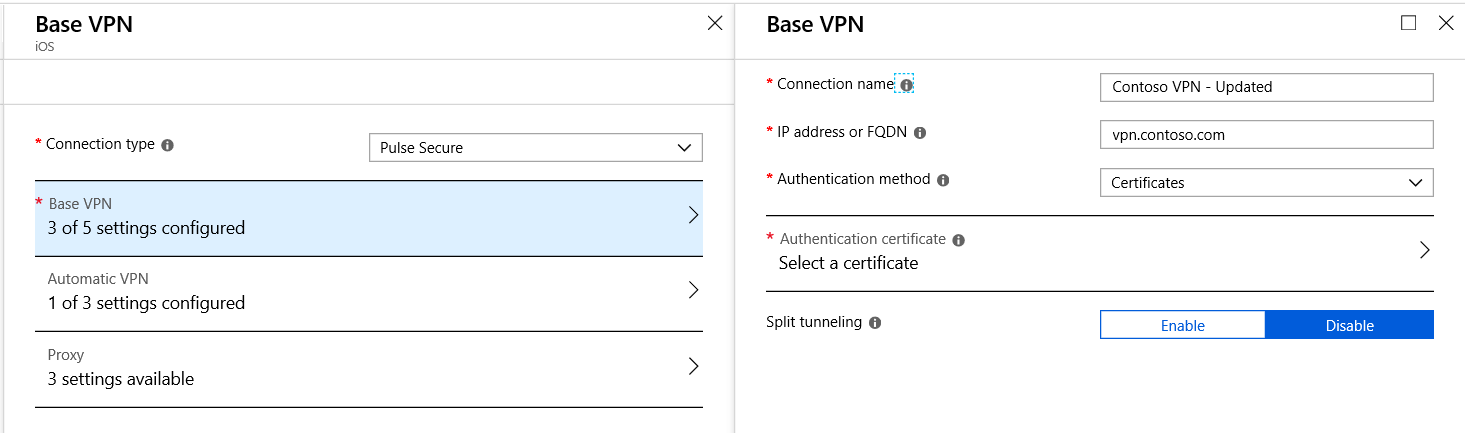 Known issue: Certificate-based authentication issue with