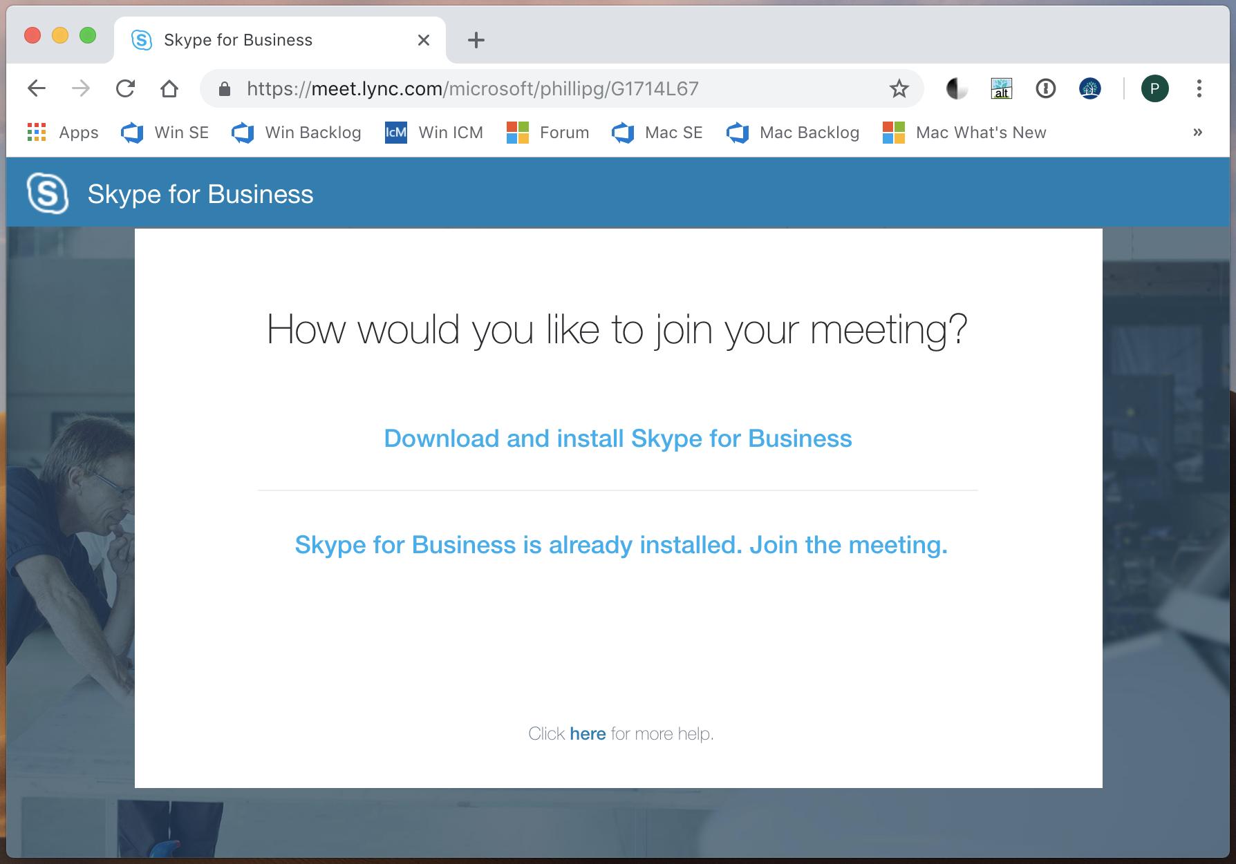 Skype For Business Desktop App On Mac To Replace Skype Meetings App Web Microsoft Tech Community