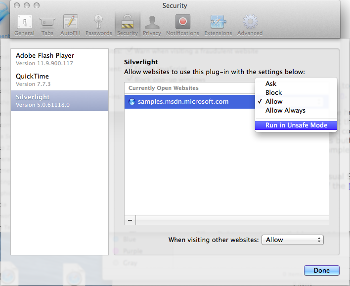 silverlight for mac