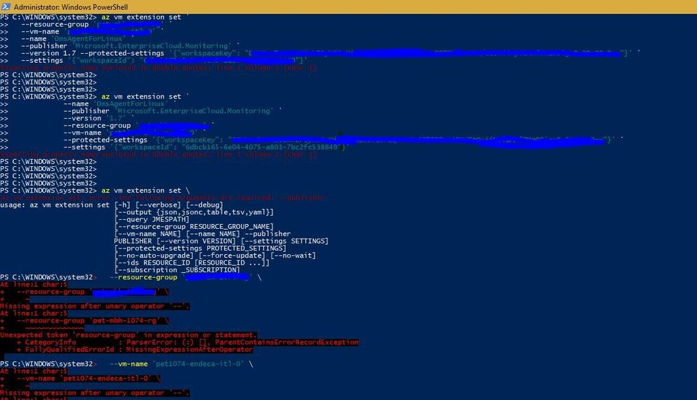 Linux CLI extension.JPG