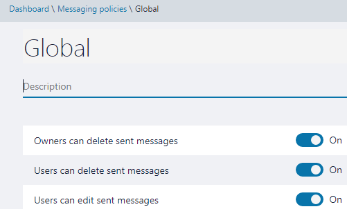 Can Not Delete Team Chat Messages Despite Policy Change Microsoft Tech Community