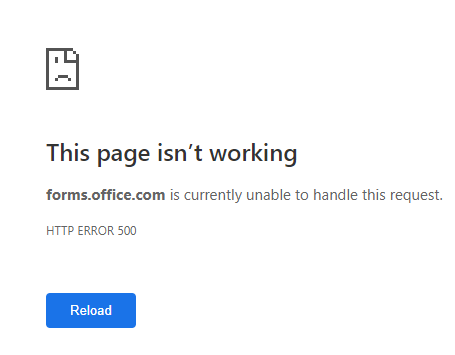 Is Microsoft Forms Down Right Now Microsoft Tech Community