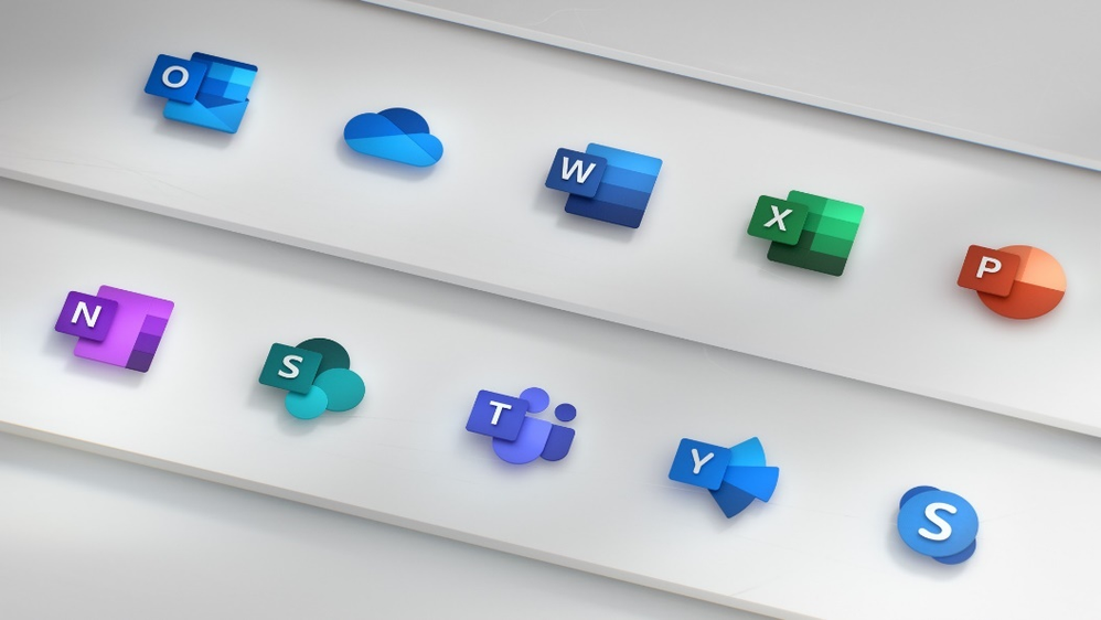New Office 365 icons