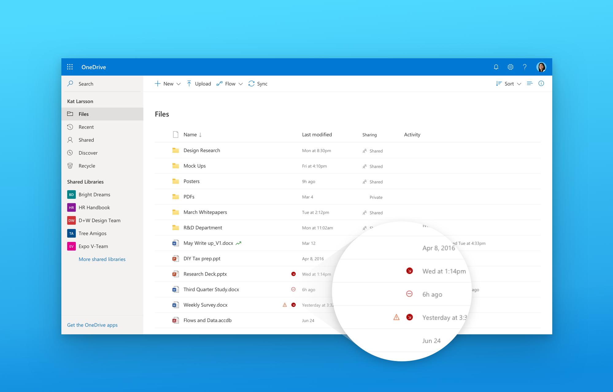 Designing A Fluent And Intelligent Onedrive Microsoft Tech Community 303748