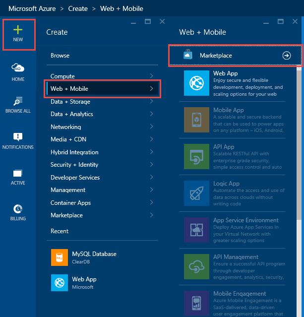 Creating A Wordpress Website With Azure Microsoft Tech Community