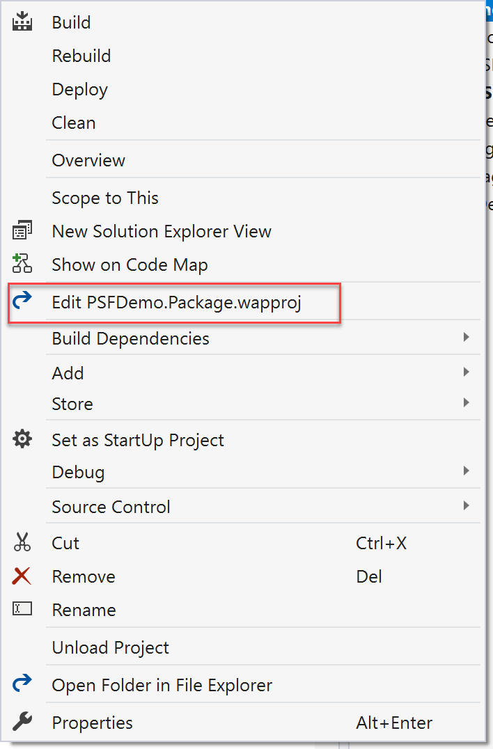 Using the Package Support Framework with a Desktop Bridge