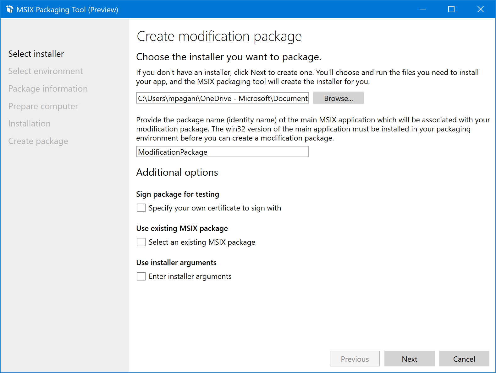MSIX and modification packages: how to improve the DevOps