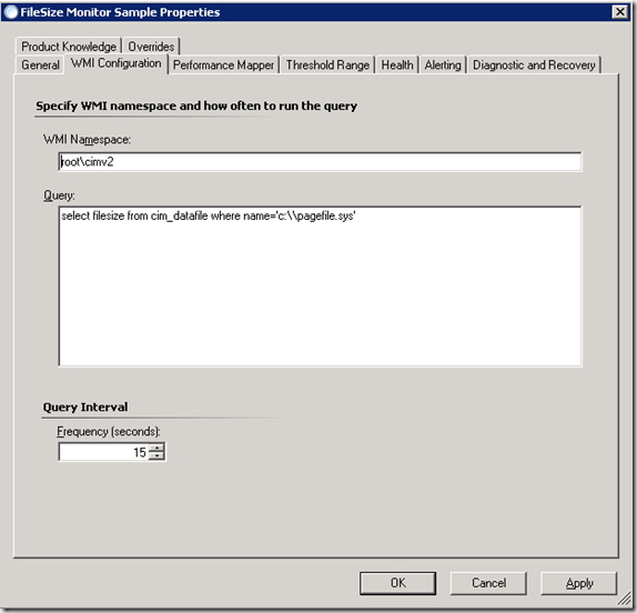 Monitoring File Size with Custom WMI Performance Counter - Microsoft