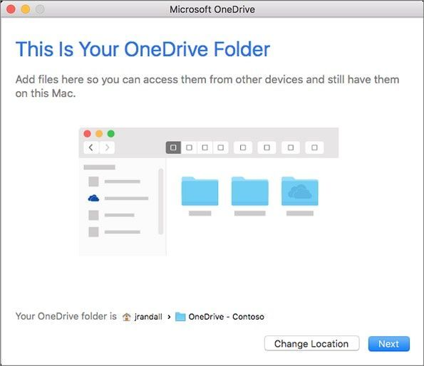 The new OneDrive sync client lets you sync files from your OneDrive for Business and even from SharePoint sites to your Mac desktop/Finder.