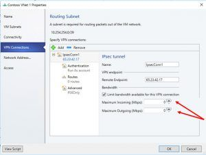 Troubleshoot Configuring SDN RAS Gateway VPN Bandwidth Settings in Virtual Machine Manager