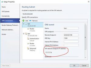 How to find the SDN gateway local address for BGP peering in Windows Server 2016