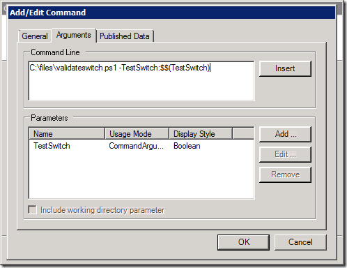 OIT Quick Tip: Using PowerShell Switch Parameters in CLI Activities