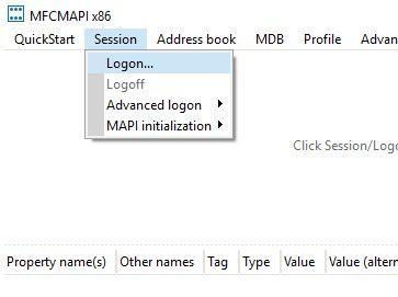 MFCMAPI Logon.jpg