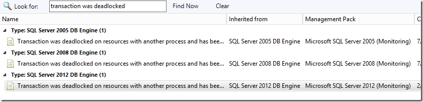 Alerting on Deadlocks with the SQL Server Management Pack