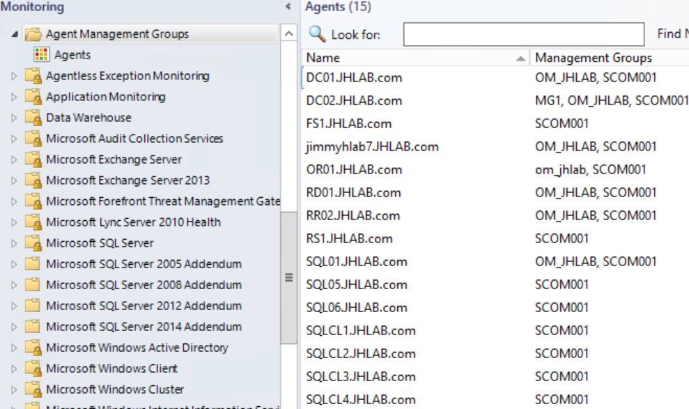 SCOM Task to Add or Remove Management Groups on Agents