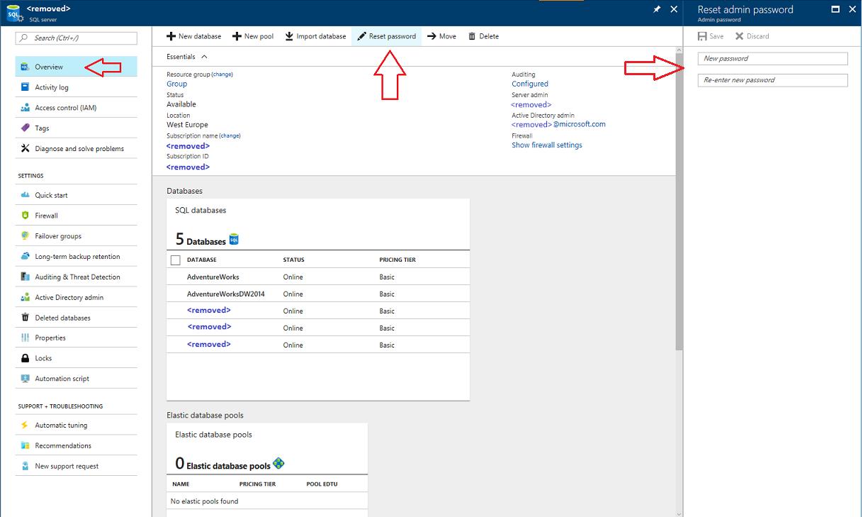 Reset lost admin account password - Microsoft Tech Community