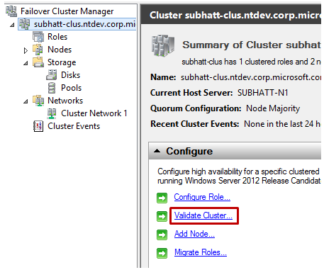 How to Configure a Clustered Storage Space in Windows Server 2012