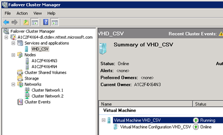 How to Move Highly Available (Clustered) VMs to Windows Server 2012 with the Cluster Migration Wizard