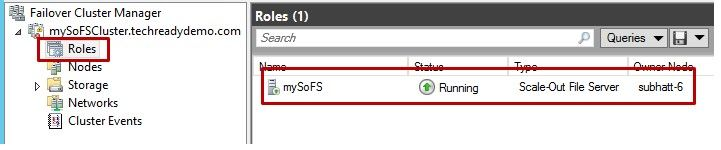 Configuring a File Share Witness on a Scale-Out File Server