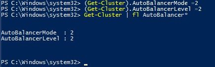 Failover Cluster VM Load Balancing in Windows Server 2016
