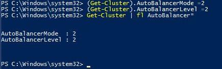 Failover Cluster VM Load Balancing in Windows Server 2016