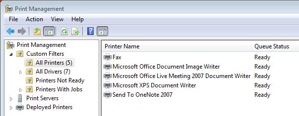WS2008: Print Management Enhancements - Microsoft Tech Community ...