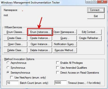 Memory and Handle Quotas in the WMI Provider Service