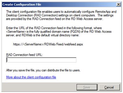 Windows 7 / Windows Server 2008 R2: RemoteApp and Desktop