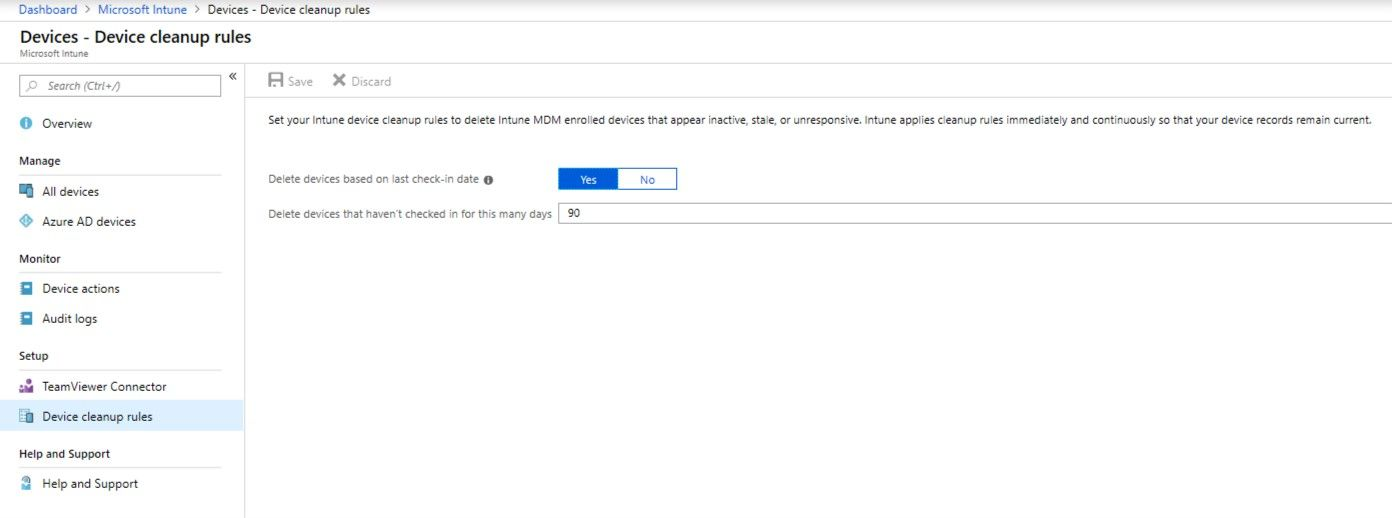 Using Intune device cleanup rules - Microsoft Tech Community
