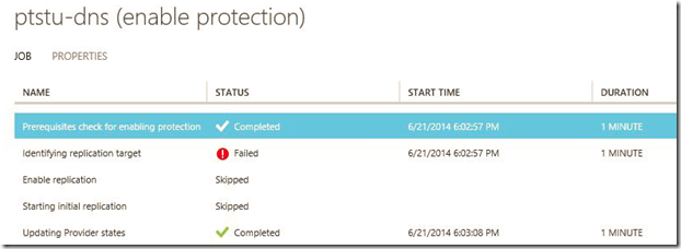 "Azure Site Recovery – case of the ""network connection failure"""