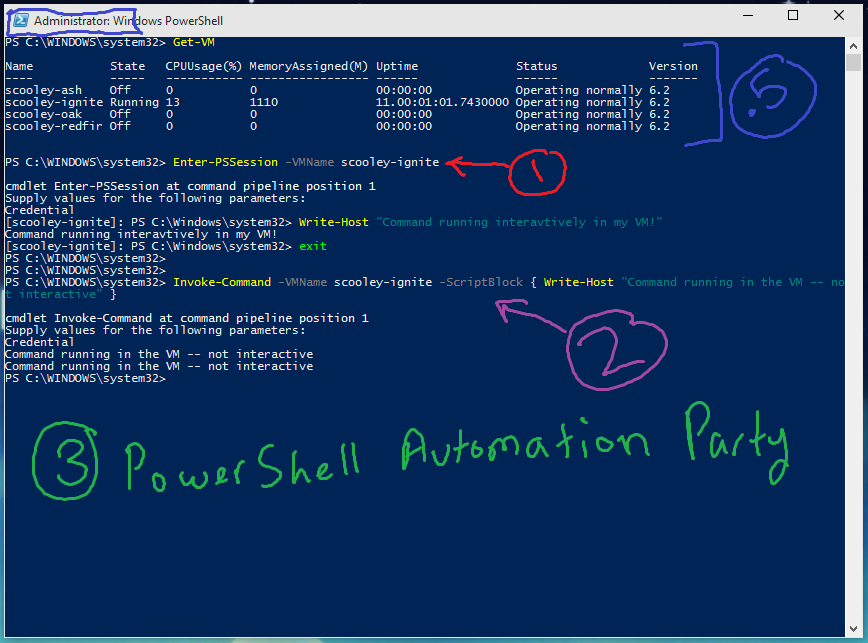 PowerShell Direct – Running PowerShell inside a virtual machine from the Hyper-V host