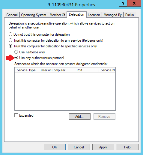 Live Migration via Constrained Delegation with Kerberos in Windows Server 2016