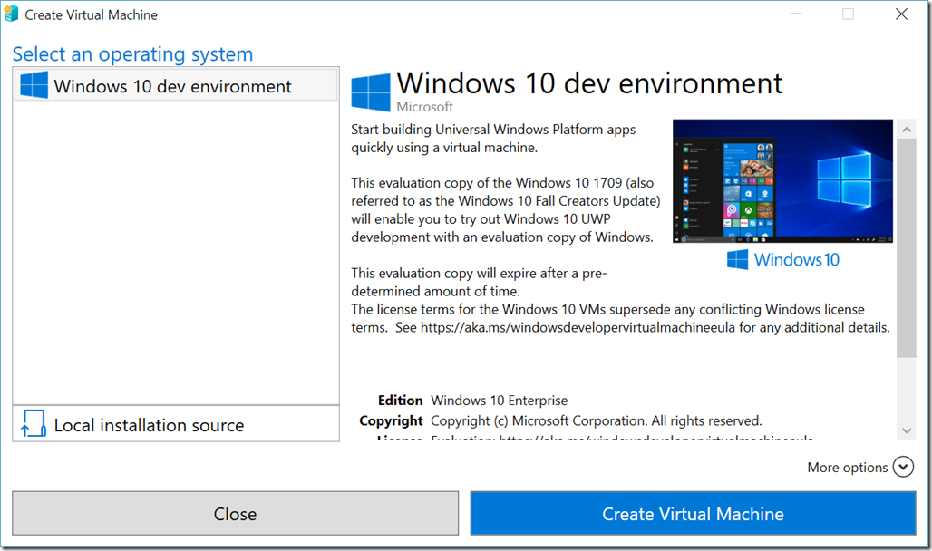 What's new in Hyper-V for Windows 10 Fall Creators Update?