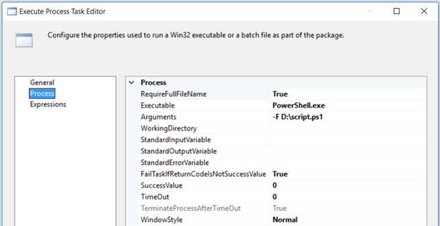 Run PowerShell scripts in SSIS - Microsoft Tech Community - 388340