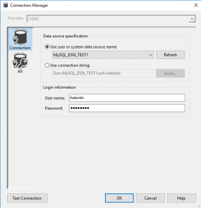 How to design your SSIS package with ODBC connection on