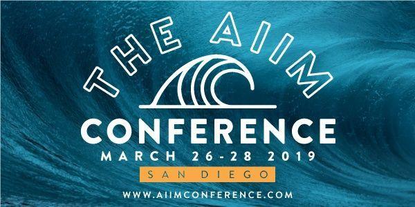 AIIM Conference 2019