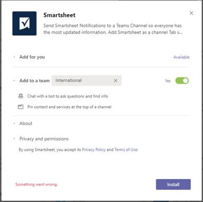 Smartsheet app install issue.png
