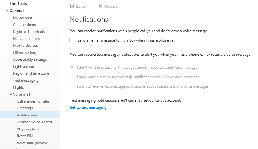 Missed call email notifications - Microsoft Tech Community - 37922