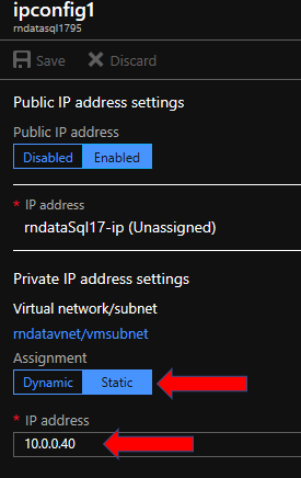 Using a TCP proxy to connect to SQL Database over VPN