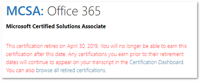 Office 365 exams retire in 30 days - Microsoft Tech