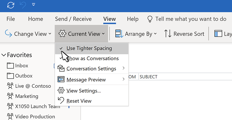 How to increase the font size in microsoft outlook 2020