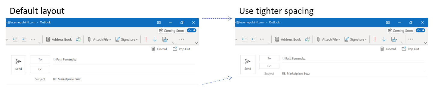 How to permanently change the font size in outlook 2020